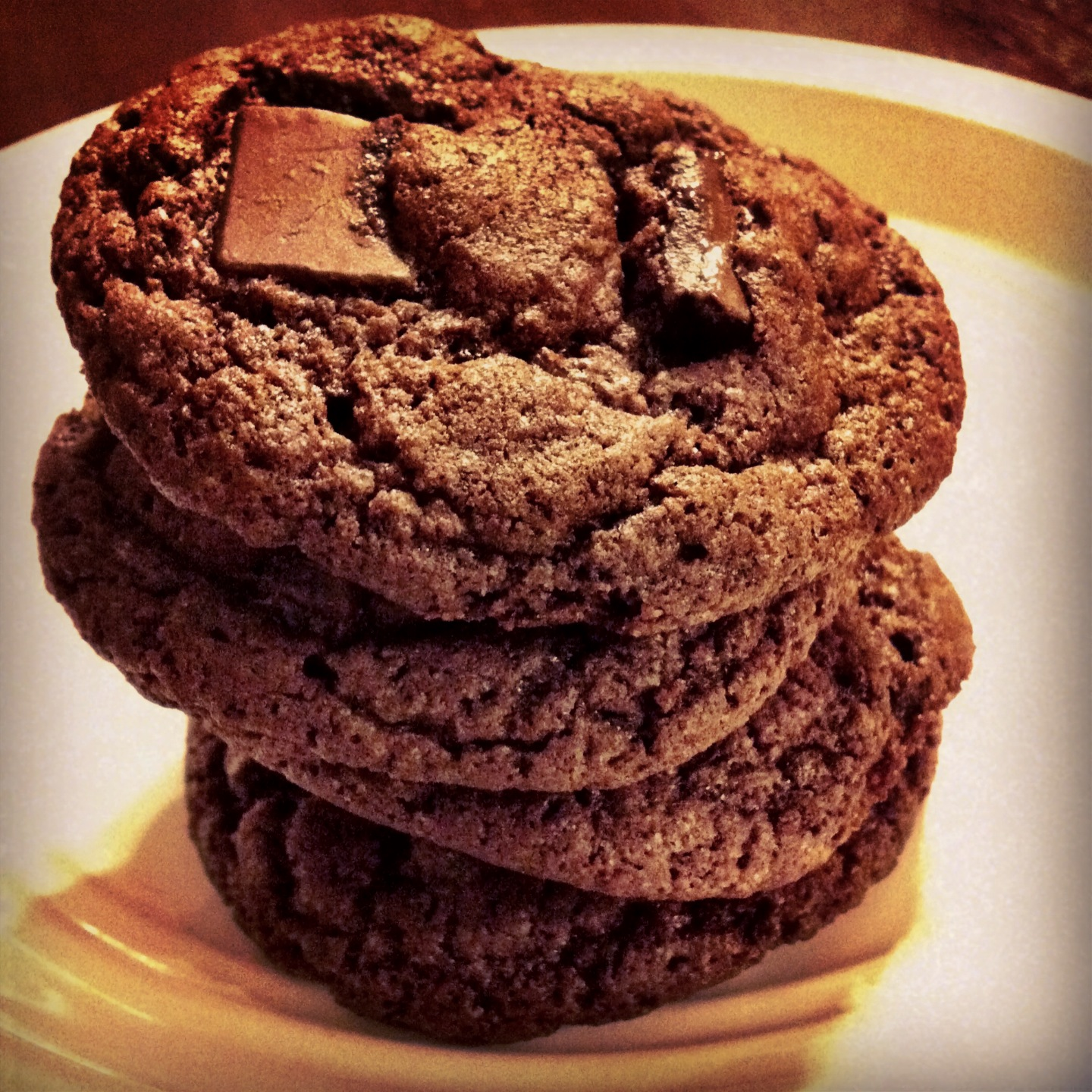 Cake Mix Cookies Devils Food Chocolate Chunk The Coers Family