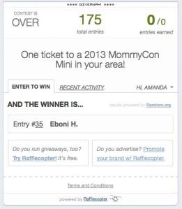 mommycon winner