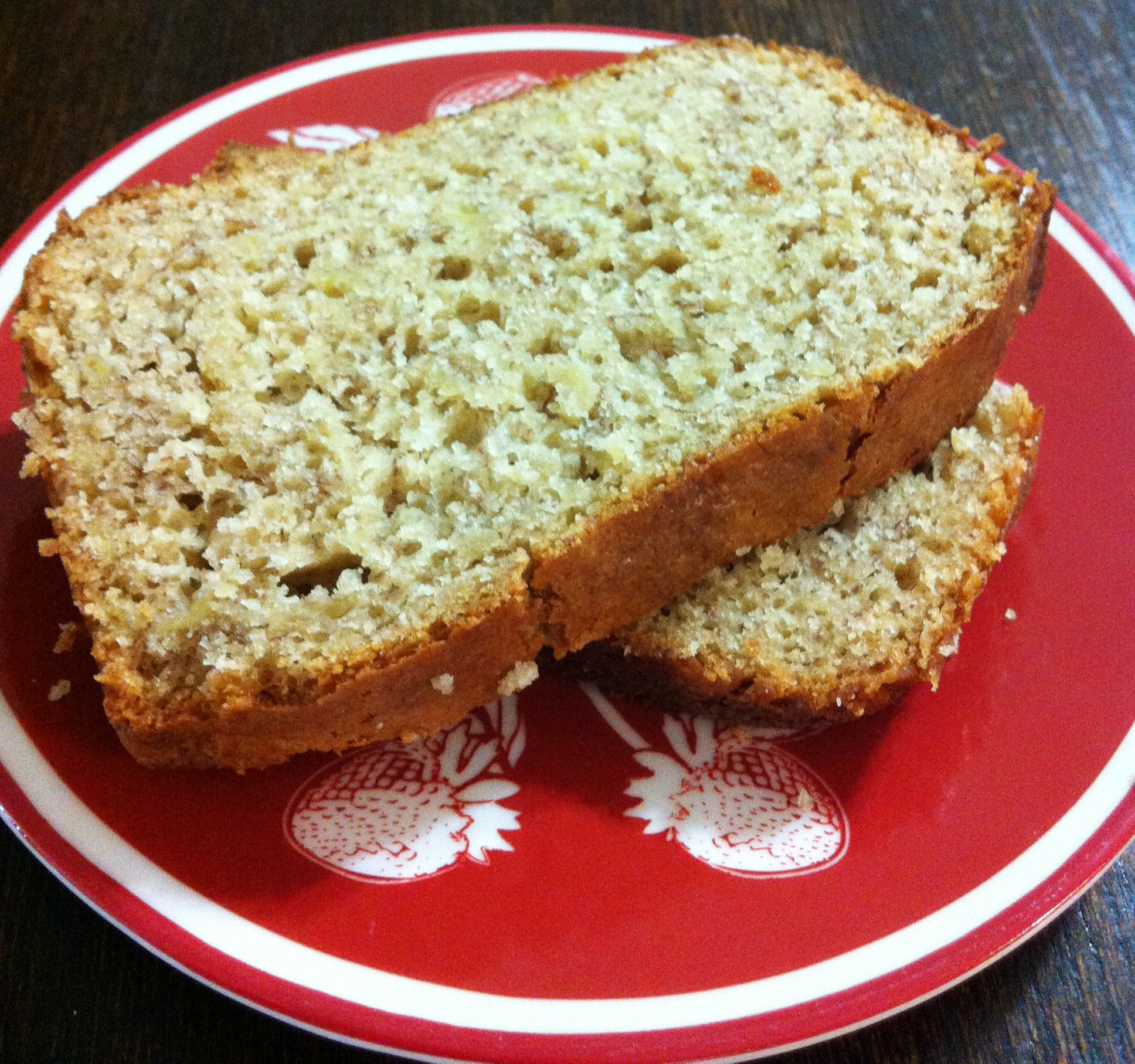 Quick And Easy Banana Bread Made With Cake Mix The Coers