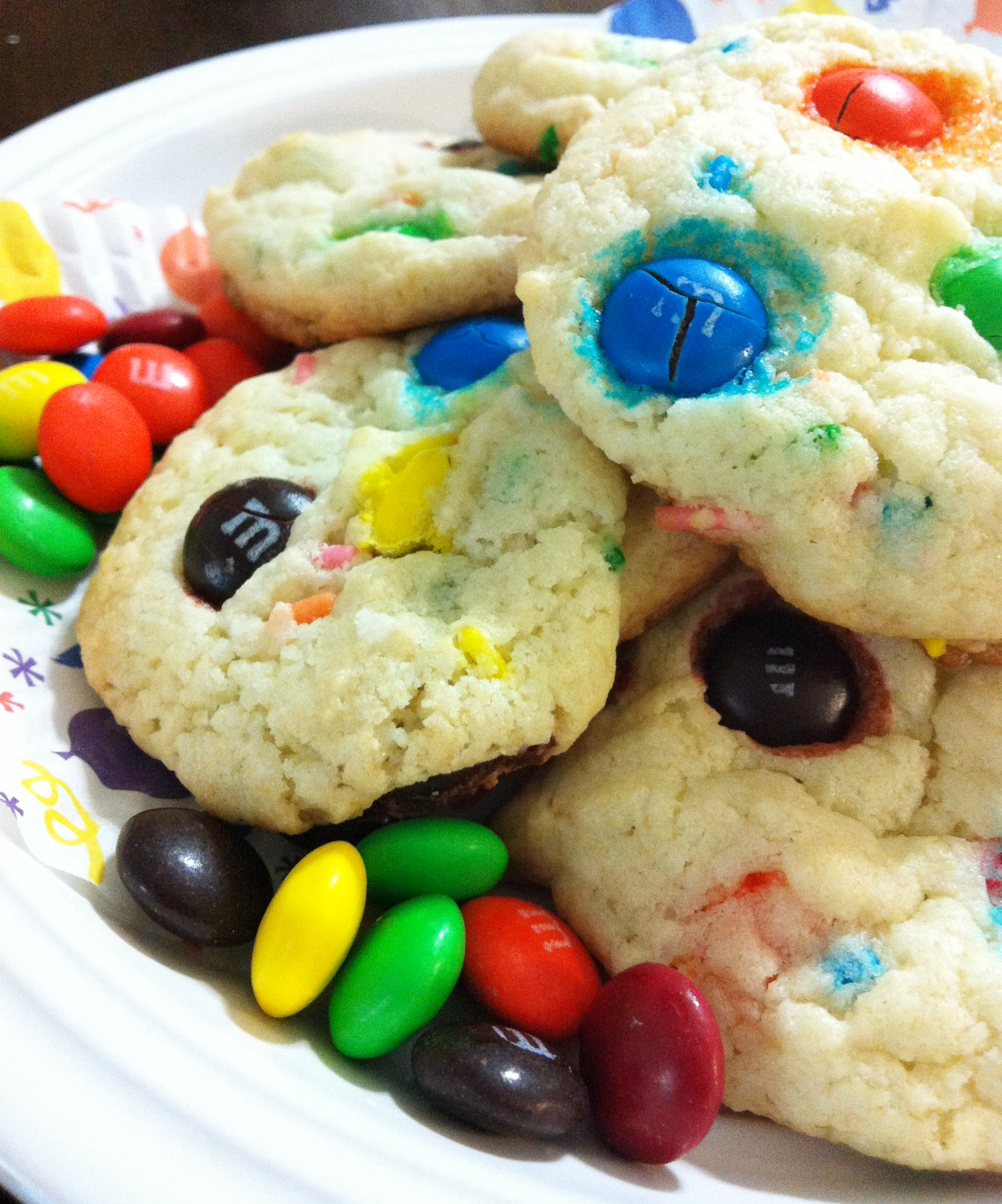 Cake Mix Cookies Funfetti And Mm The Coers Family